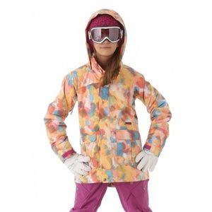 Burton ski jacket S-XS Women/GirlsL Maddie perfect